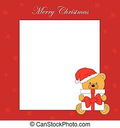 kartka na boże narodzenie, powitanie
