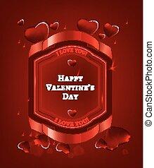 kartka pocztowa, 01, valentine