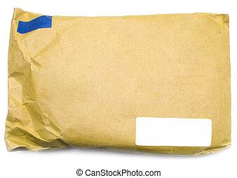 karton, enveloppe
