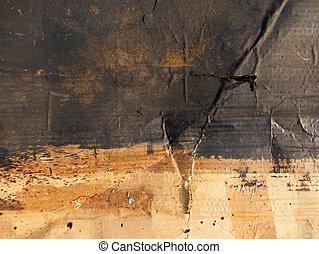 karton, vieze , textuur