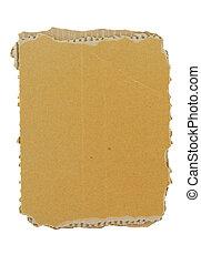kartonpapír, darab, képben látható, nyugat
