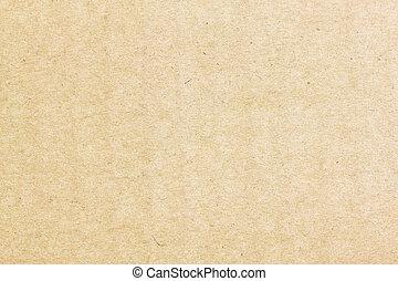 kartonpapír, vagy, háttér, struktúra