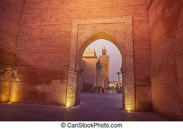 Kasbah Mosque in Marrakesh