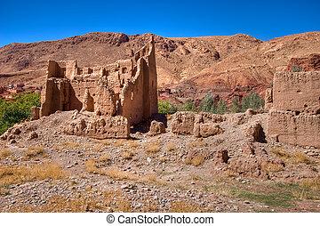 kasbah ruins in Morocco