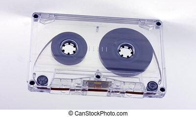 kaseta, szczelnie-do góry, muzyka