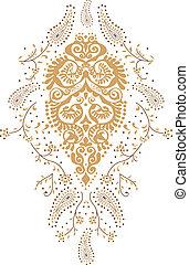 kashmir, paisley, conception mode