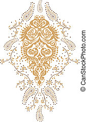 Kashmir paisley design fashion