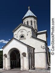 Kashveti church. Tbilisi. Georgia. - Kashveti church in...
