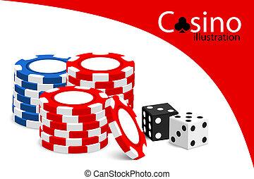 kasino, abbildung