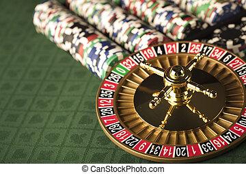 kasino, concept.