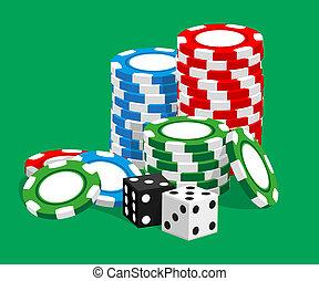 kasino, illustration