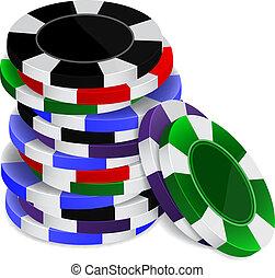 kasino raspelt, stapel