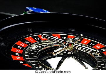 kasino, roulet, spil, idræt