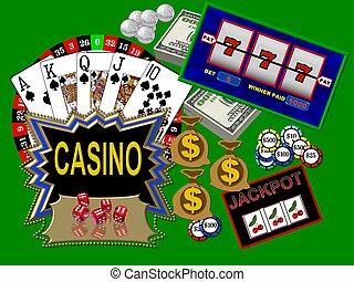 kasino, symbole