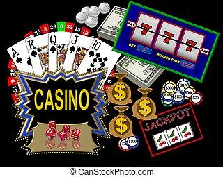 kasino, symboler