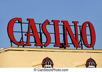 kasino underskriv