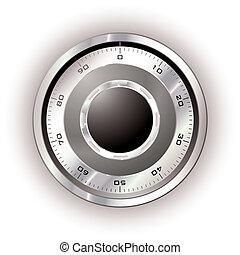 kassaskåp ring, vit