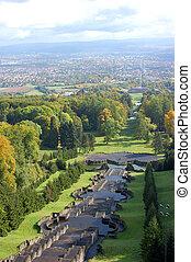 Kassel, Germany - View from the Wilhelmshoehe Park in Kassel