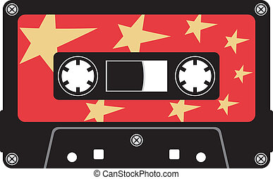 kassett, audio, tejpa