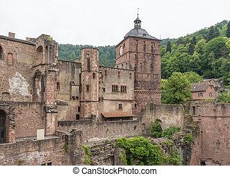 kasteel, heidelberg, duitsland