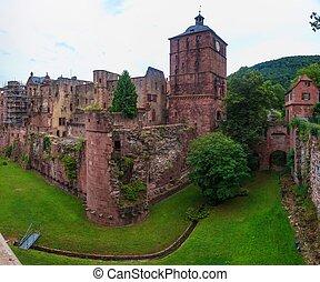 kasteel, heidelberg