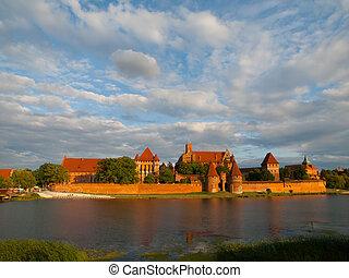 kasteel, malbork