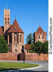 kasteel, polen, malbork
