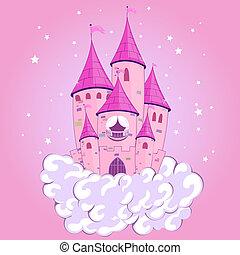 kasteel, prinsesje
