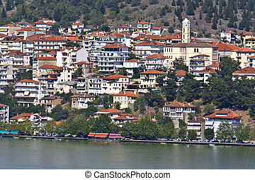 Kastoria traditional Greek city