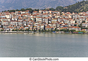 Kastoria traditional Greek city