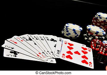 kaszinó, rulett, hazárdjáték, játékok