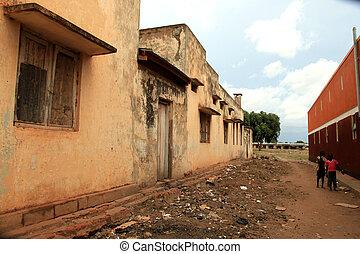 Katakwi - Uganda, Africa - Small Rural Village in Uganda -...