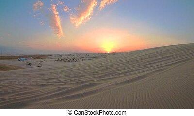 katar, pustynia krajobraz
