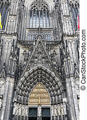 katedra, kolonia, niemcy, kolonia