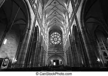 katedra, praga