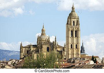katedra,  Segovia