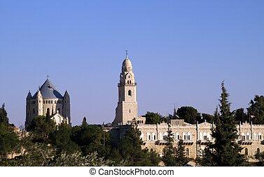 katedral, ind, jerusalem