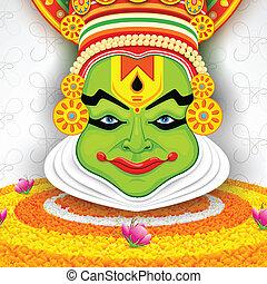 kathakali, γραφικός , ζεσεεδ