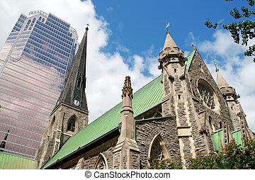 kathedraal, christus, kerk
