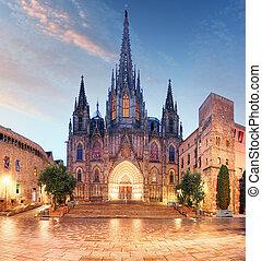 kathedrale, barcelona