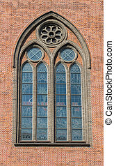 kathedrale, fenster, 2, kirche