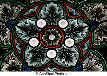 kathedrale, glasmalerei, zagreb