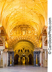 kathedrale, große moschee, cordoba