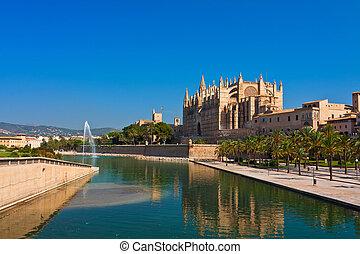 Palma de Mallorca - Kathedrale La Seu Palma de Mallorca