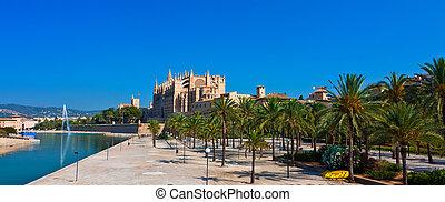 Kathedrale La Seu Panorama - Kathedrale La Seu Palma de...