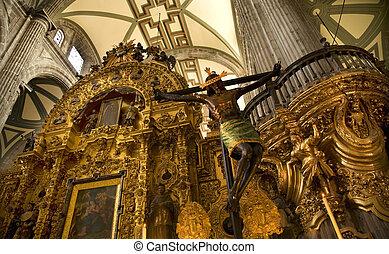 kathedrale, mexiko-stadt