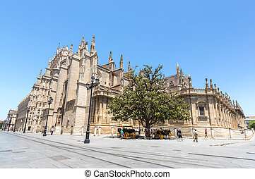 kathedrale, sevilla
