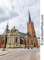 kathedrale, stockholm, schweden