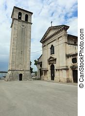 kathedrale, von, pula, in, kroatien