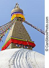 kathmandu, bodhnath, stupa